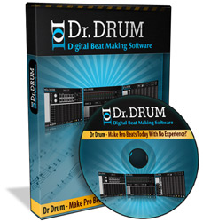 Free Drums DJ, drum recording software, drum sequencer software