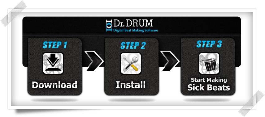 Dr  Drum - Digital Beat Making Software